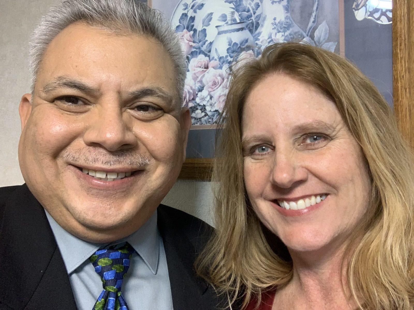 Rev. Colette (Smith '87) and Rev. Juan Carlos '88 Gonzalez