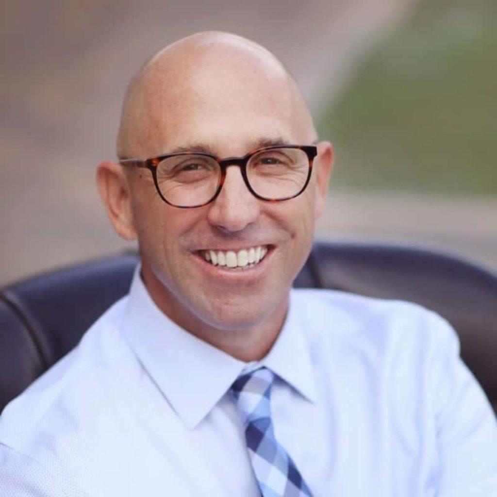 Justin McIntee '98, MBA '09, Vice President for University Advancement at Vanguard University